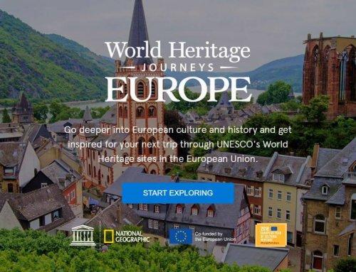 Routes du patrimoine mondial de l'Union européenne