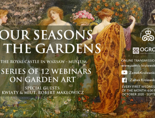 """4 seasons in the gardens"" – A serie of 12 webinars !"
